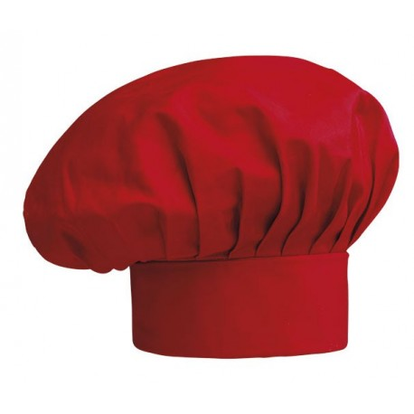 Cappello Cuoco Rosso - solochef.it 4fa42b6f388c