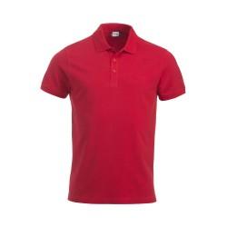 Polo Uomo Manica Corta Rossa