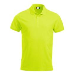Polo Uomo Manica Corta Verde Neon