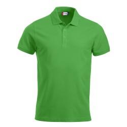 Polo Uomo Manica Corta Verde Brillante