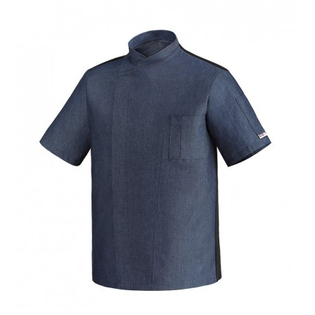 sale retailer 02f76 3ee14 Giacca Cuoco Ottavio Manica Corta Jeans