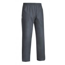 Pantaloni Microfibra Grigio