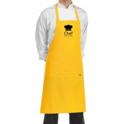 Grembiule Cuoco Chef Made in Italy Giallo