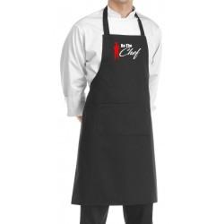 Grembiule Cuoco Be The Chef Nero