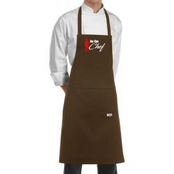 Grembiule Cuoco Be The Chef Marrone