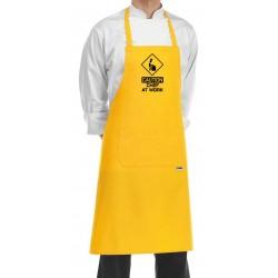 Grembiule Cuoco Chef At Work Giallo