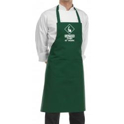 Grembiule Cuoco Chef At Work Verde Bottiglia