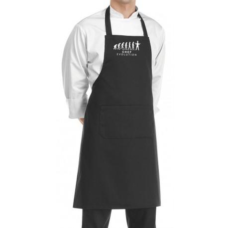 Grembiule Cuoco Chef Evolution Nero