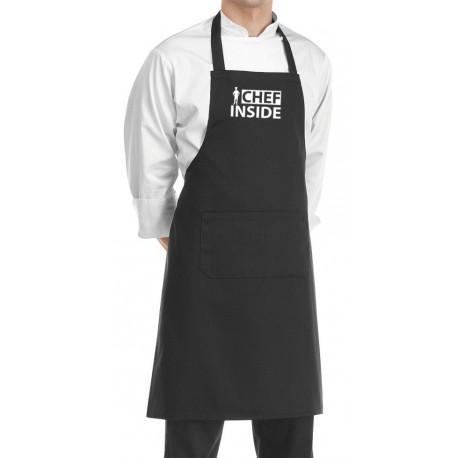 Grembiule Cuoco Chef Inside Nero