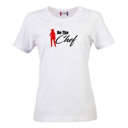 T-Shirt Donna Be The Chef Bianca