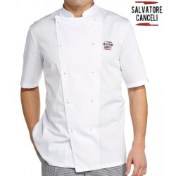 Giacca Cuoco Classica M/Corte Red2