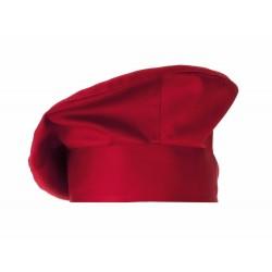 Cappello Cuoco LuxSatin Monet Rosso