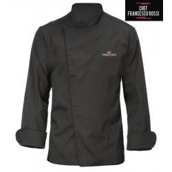 Giacca Cuoco Mirko Nera Red2
