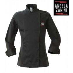 Giacca Cuoco Donna Colette Nera Red2