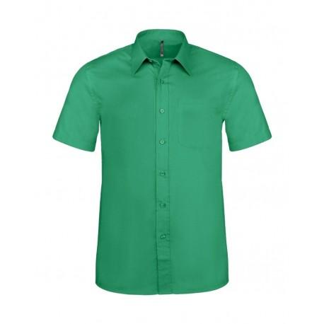 watch 48379 6c3e7 Camicia Uomo Policotone Manica Corta Verde
