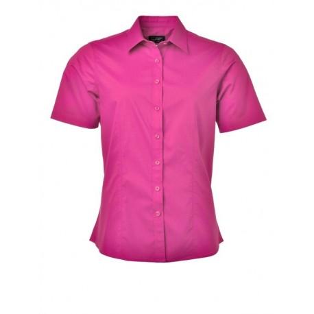 quality design 1837e c8a13 Camicia Donna Policotone Manica Corta Fucsia