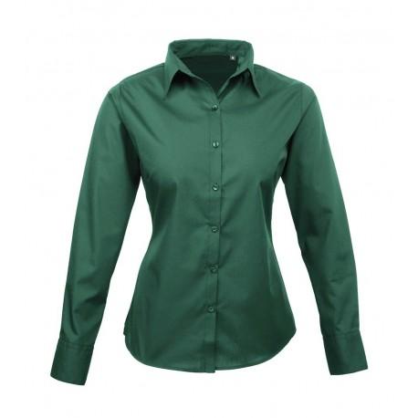 uk availability 6df82 29dc5 Camicia Donna Policotone Verde Scuro