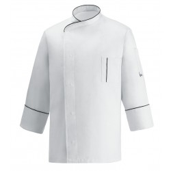 Giacca Cuoco Cesare Bianco Microfibra