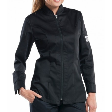 Giacca Cuoco Lady Monza Cooltex Nera