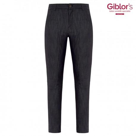 Pantalone Donna Iride Jeans Stretch Nero