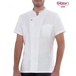 Giacca Cuoco Apollo Ultraleggera Microfibra+ Bianco
