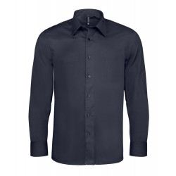 Camicia Uomo Stretch Blu
