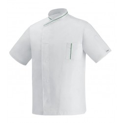 Giacca Cuoco Microtec Bianco M/Corte