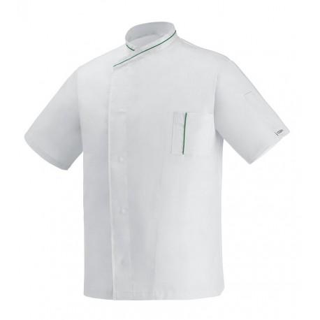 Giacca Cuoco White Eco M/Corte