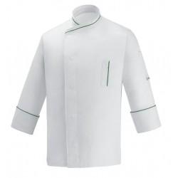 Giacca Cuoco Microtec Bianco