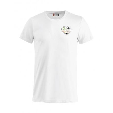 T-Shirt Bianca Cuore di Chef