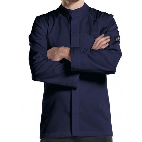 Giacca Cuoco Leggero Salerno Blu