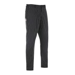 Pantalone Slim Fit Gessato