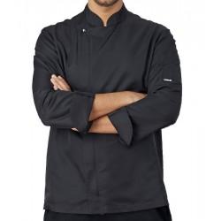 Giacca Cuoco Sebastian Microfibra Nera