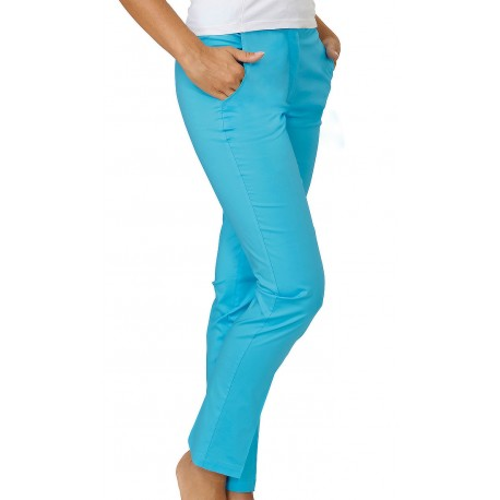 Pantalone Donna Tamara Stretch Turchese