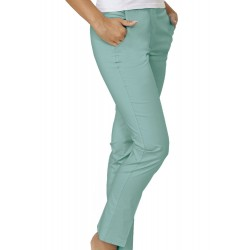Pantalone Donna Tamara Stretch Salvia