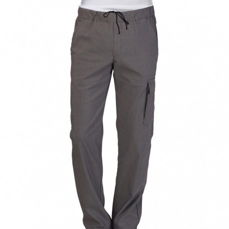 Pantalone Austin Stretch Multitasche Grigio