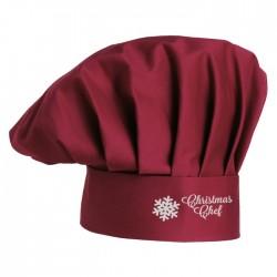 Cappello Cuoco Christmas Chef Bordeaux