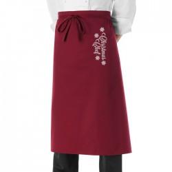 Grembiule Vita Christmas Chef Bordeaux