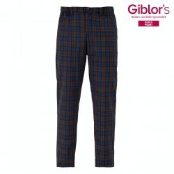 Pantalone Cronos Quadri Marroni