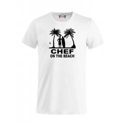 T-Shirt Chef On The Beach Bianca