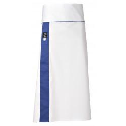 Grembiule Cuoco Alex Bianco/Azzurro