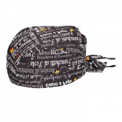 Bandana Black Menu