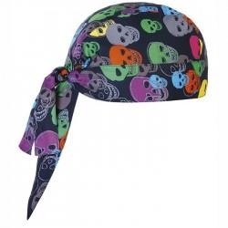 Bandana Cuoco Color Skulls
