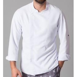 Giacca Cuoco Vidal Microfibra Bianca