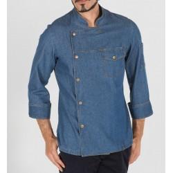 Giacca Cuoco Casal Jeans Blu