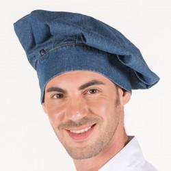 Cappello Cuoco Stone Jeans Blu