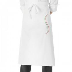 Cappello Cuoco LuxSatin Monet Bianco - solochef.it 6f43cdfeb075