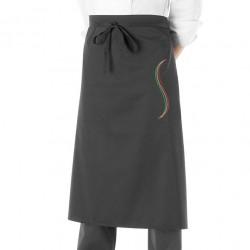 Grembiule Cuoco Onda Italia Nero