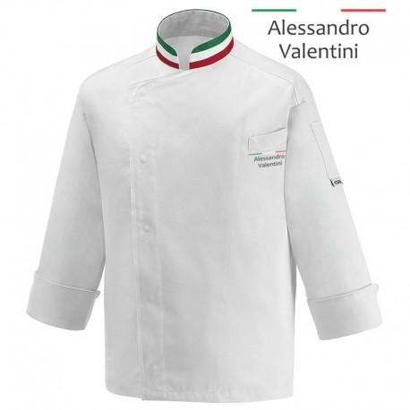 Giacca Cuoco Nation Satin Chef Italia