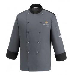 Giacca Cuoco Simbolo Color Grigia